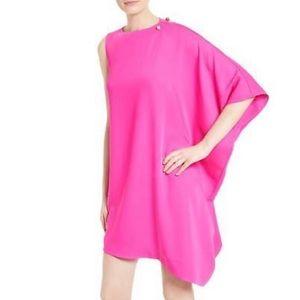 Ted Baker London Aubrey Draped Asymmetrical Dress